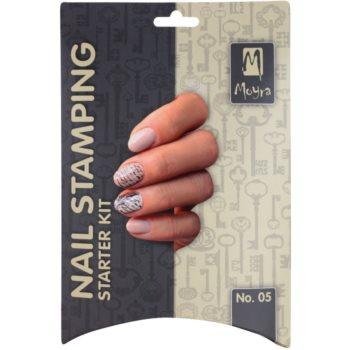 Moyra Nail Art Nail Stamping set cosmetice IV. 2