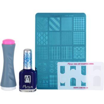 Moyra Nail Art Nail Stamping козметичен пакет  III.