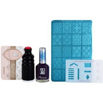 Moyra Nail Art Nail Stamping zestaw kosmetyków VII.