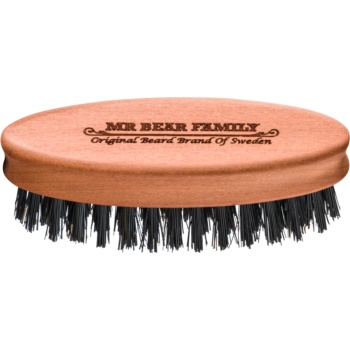 Mr Bear Family Grooming Tools perie de voiaj pentru barbă