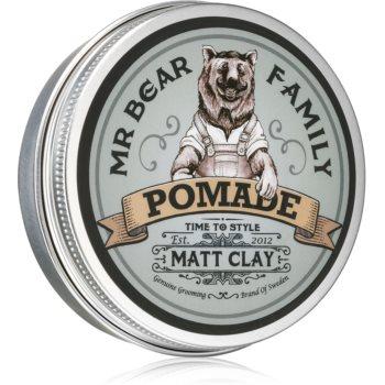 Mr Bear Family Matt Clay pomadă matifiantă pentru păr poza noua