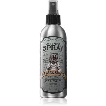 Mr Bear Family Sea Salt Spray de păr multifuncțional cu sare de mare poza noua