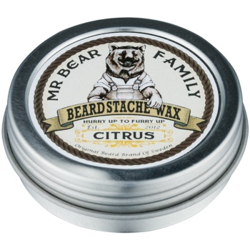 Mr Bear Family Citrus Bartwachs 30 ml