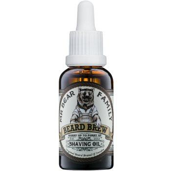 Mr Bear Family Skincare ulei pentru barbierit pentru barbati