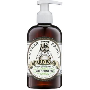 Mr Bear Family Wilderness șampon pentru barbă