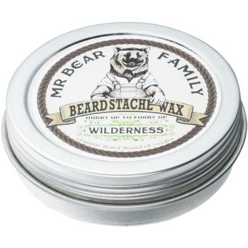 Fotografie Mr Bear Family Wilderness vosk na vousy 30 ml
