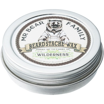 Mr Bear Family Wilderness Bartwachs 30 ml