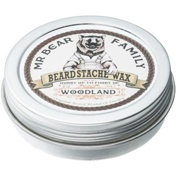 Mr Bear Family Woodland ceară pentru barbă