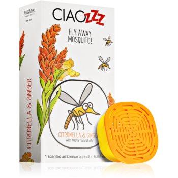 Mr & Mrs Fragrance Ciaozzz Citronella & Ginger reumplere în aroma difuzoarelor capsule (Mosquito Repellent)