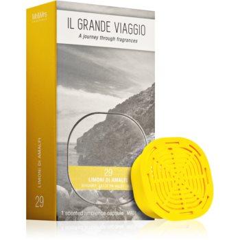 Mr & Mrs Fragrance Il Grande Viaggio Limoni di Amalfi reumplere în aroma difuzoarelor capsule poza noua