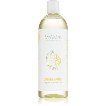 Mr & Mrs Fragrance Blanc Limoni Di Amalfi reumplere în aroma difuzoarelor