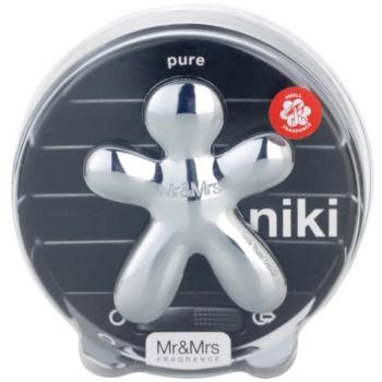 Mr & Mrs Fragrance Niki Pure parfum pentru masina reincarcabil