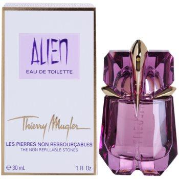 Fotografie Mugler Alien parfémovaná voda pro ženy 30 ml plnitelná
