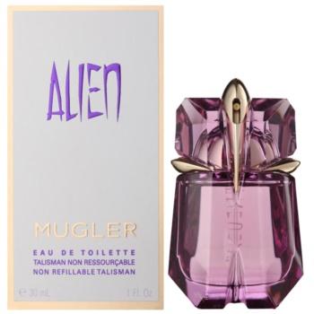 Fotografie Mugler Alien toaletní voda pro ženy 30 ml plnitelná