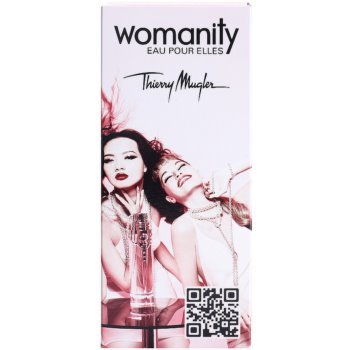 Mugler Womanity Eau pour Elles Eau de Toilette para mulheres  recarregável 4
