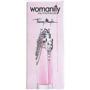 Mugler Womanity Eau pour Elles Eau de Toilette para mulheres  recarregável 5