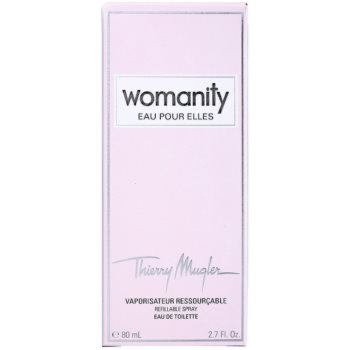 Mugler Womanity Eau pour Elles Eau de Toilette para mulheres  recarregável 6