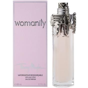 Mugler Womanity parfumska voda za ženske  polnilna