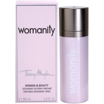 Mugler Womanity deospray pre ženy