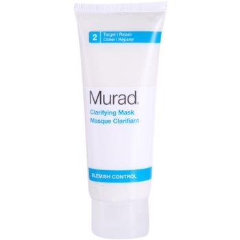 Murad Blemish Control maseczka rozjaśniająca do skóry  tłustej