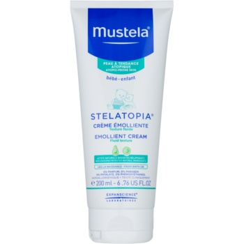 Mustela Bébé Stelatopia crema emolienta pentru nou-nascuti si copii