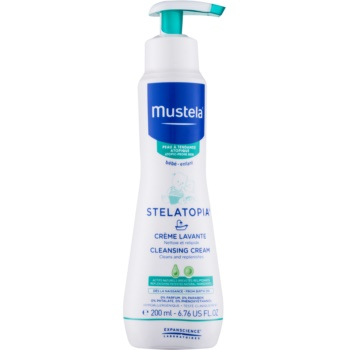 Mustela Bébé Stelatopia crema pentru curatare pentru nou-nascuti si copii