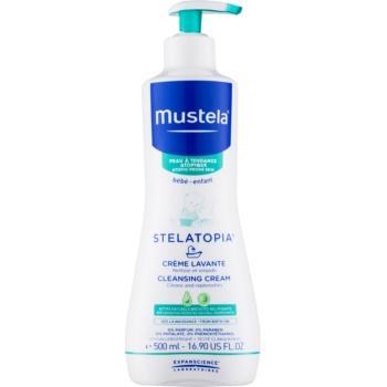Mustela Bébé Stelatopia čisticí krém pro děti od narození 500 ml