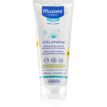 Mustela Bébé crema hidratanta si emolienta pentru nou-nascuti si copii