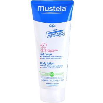 Mustela Bébé Soin mleczko do ciała z cold cream