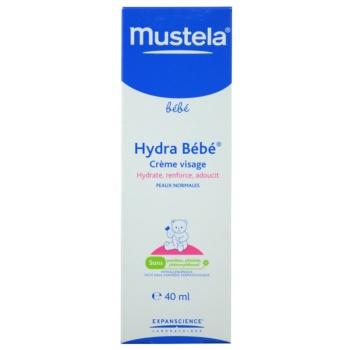 Mustela Bébé Hydra Bébé feuchtigkeitsspendende Gesichtscreme für Kinder ab der Geburt 2