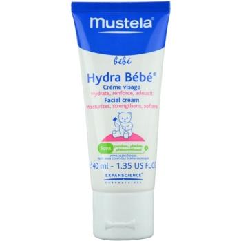 Mustela Bébé Hydra Bébé crema de fata hidratanta pentru nou-nascuti si copii