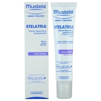 Mustela Dermo-Pédiatrie Stelatria creme regenerador   para pele irritada 1