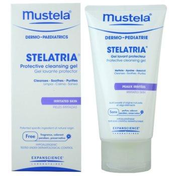 Mustela Dermo-Pédiatrie Stelatria Schützendes Reinigungsgel Für irritierte Haut 1