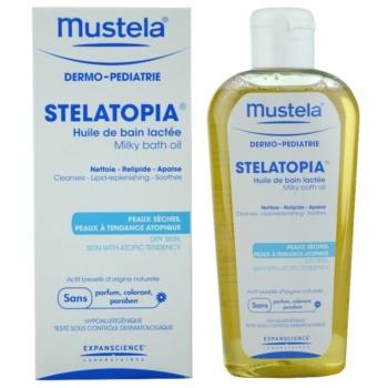 Mustela Dermo-Pédiatrie Stelatopia Badeöl für sehr trockene, empfindliche und atopische Haut 1
