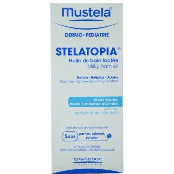 Mustela Dermo-Pédiatrie Stelatopia Badeöl für sehr trockene, empfindliche und atopische Haut 2