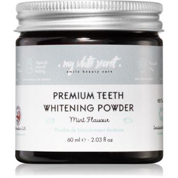 My White Secret Whitening Powder pudra pentru albirea dintilor pentru dinti sensibili
