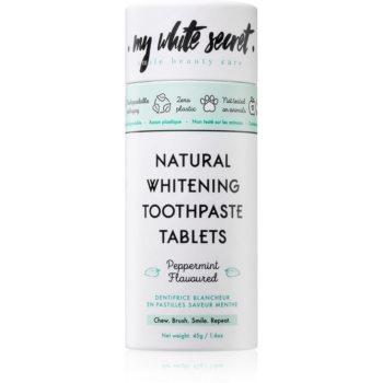 My White Secret Toothpaste Tablets pasta de dinti pentru albire imagine produs