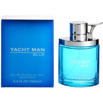 Myrurgia Yacht Man Blue Eau de Toilette pentru barbati 100 ml