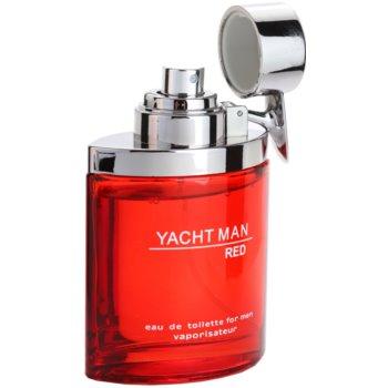 Myrurgia Yacht Man Red Eau de Toilette for Men 3