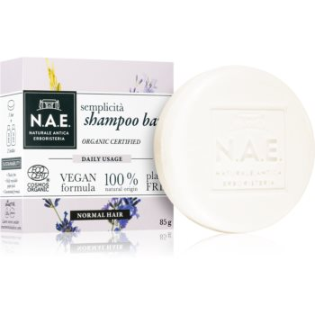 N.A.E. Semplicita Organisches Shampoo als Waschstück 85 g