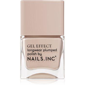Nails Inc. Gel Effect lac de unghii cu rezistenta indelungata