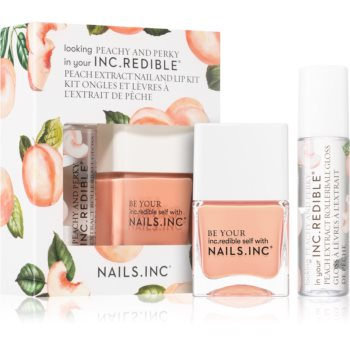Nails Inc. Peachy and Perky ambalaj economic II.