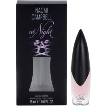 Naomi Campbell At Night Eau de Toilette pentru femei 15 ml