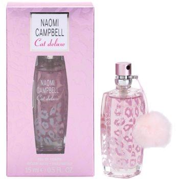 Naomi Campbell Cat deluxe Eau de Toilette pentru femei 15 ml