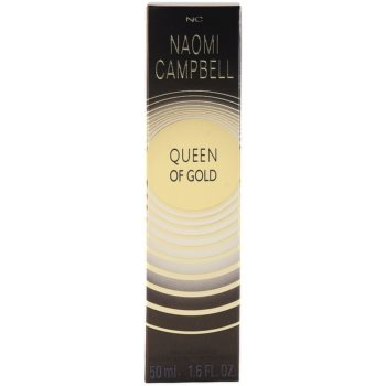Naomi Campbell Queen of Gold Eau de Toilette pentru femei 4