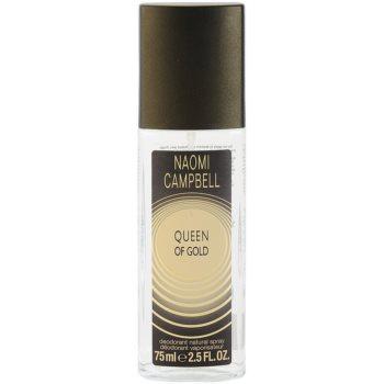 Naomi Campbell Queen of Gold deodorant spray pentru femei