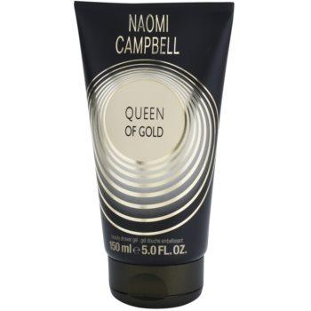 Naomi Campbell Queen of Gold gel de dus pentru femei
