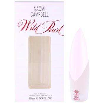 Naomi Campbell Wild Pearl Eau de Toilette pentru femei 15 ml