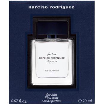 Narciso Rodriguez For Him Bleu Noir eau de parfum pentru barbati