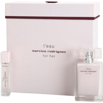 Narciso Rodriguez L´Eau For Her coffret presente